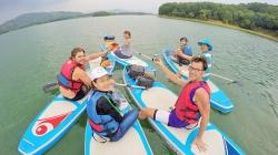 Đánh thức hồ Việt An